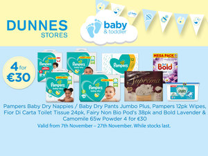 Check out these amazing toddler deals at Dunnes Stores!