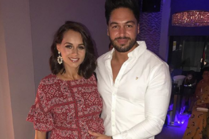 Congratulations: Towie star Mario Falcone is a father