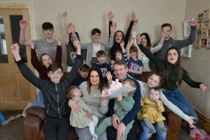 16 and Counting: Biggest family in Britain welcomes 21st child
