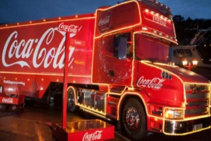 This years Coca-Cola Christmas truck tour will visit these locations