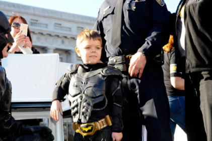 Little boy who won our hearts as Batkid is now cancer free