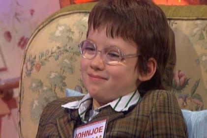 Rememebr him? Toy Shows horologist John Joe Brennan is all grown up