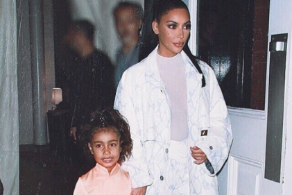 Kim Kardashian let North give her a makeover and the results are HILARIOUS