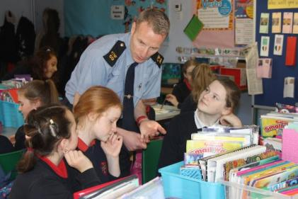 Gardaí encourage schools to get involved with new road safety campaign