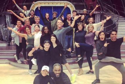 Look who's back: Strictlys Seann and Katya reunited alongside Neil Jones for finale