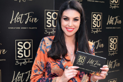 Suzanne Jackson is adding a lipstick range to her SOSU by SJ collection