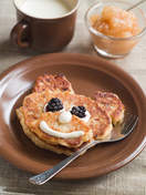 Teddybear pancakes