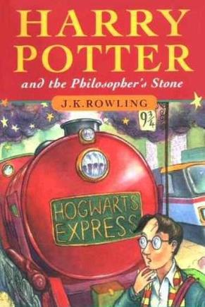Harry Potter and the Philosophers Stone by JK Rowling