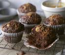 Chocolate caramel muffins