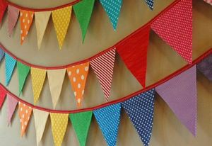 How to make DIY fabric bunting: