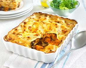 Roasted butternut squash and mushroom lasagne | MummyPages ...