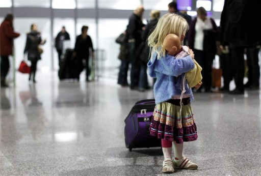 how to avoid your child getting lost on holiday