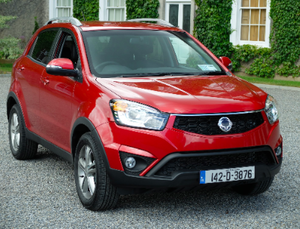 Family car review - Ssangyong Korando 2.0 litre diesel