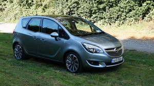 Family car review: Opel Meriva 1.6 diesel x