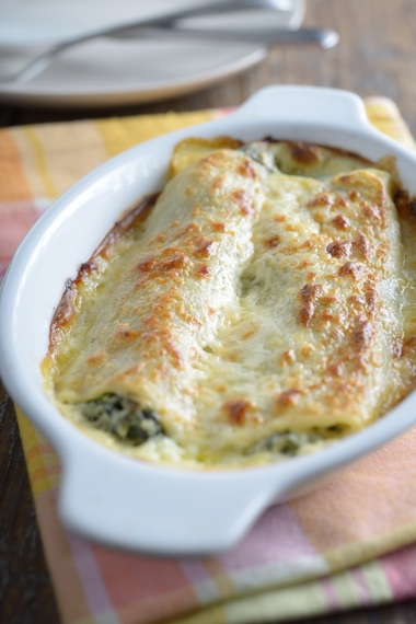 Spinach and ricotta bake with chicken | MummyPages ...