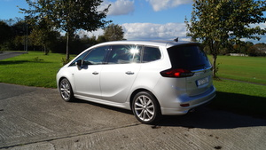 Family car review: Opel Zafira Tourer 2 litre diesel