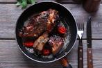 Turkish grilled lamb with hummus smash