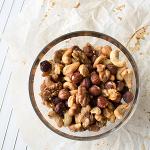 Spicy herb infused nuts