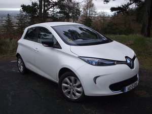 Family Car Review: Renault Zoe Electric Car