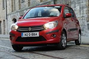 Family car review – Suzuki Celerio