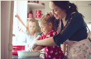 Baking with your toddler