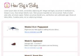 How big is baby?