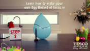 Make your own Easter Egg Basket with Tesco