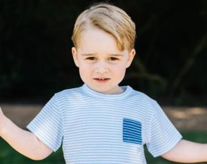 Hes three already! Prince George looks ADORABLE in new birthday photos