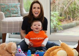 COMMENT Maia Dunphy: Tom turns one... I bought a Gruffalo cake and a big candle