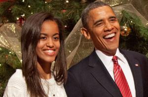 Barack Obama reveals he broke down when Malia moved into Harvard