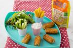 Cheesy Salmon and Broccoli Croquettes