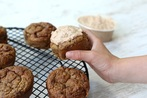 Courgette Peanut Butter Cupcakes
