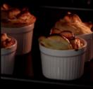 Rose baked apples