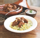Moroccan Lamb Tagine with Herb Couscous
