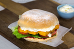 Traditional Fish Finger Sandwich