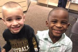 The only difference he sees is their hair: Life lessons from a four-year-old