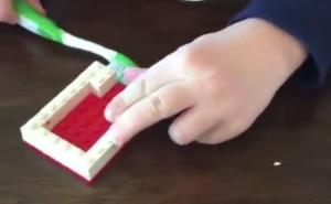 This genius hack uses LEGO to teach kids about dental health