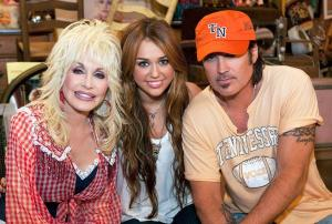 Dolly and Miley? 12 surprising celebrity godparents