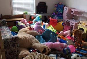 We can relate to this playroom snap on an emotional level