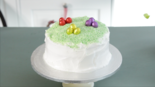 Egg hunt coconut cake