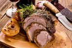 Herb crusted lamb