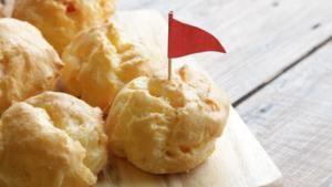 Cheesy puffs 3 ways