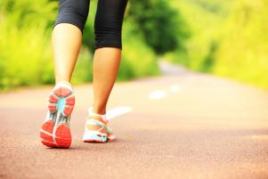 A 22 minute daily walk can lower risk of heart disease, according to experts