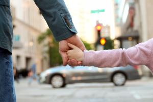 Would you hold your tweens hand crossing the street? This study says you should
