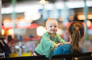How to navigate travelling with a baby