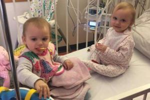 Appeal for help as identical twin toddlers are diagnosed with the EXACT SAME disease