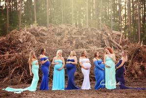 BEAUTIFUL things come from not-so-beautiful things: Were melting over this hurricane baby shoot