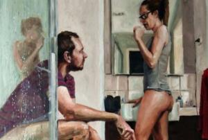 We seriously relate! Artist sums up marriage in one amazing painting