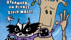 Book review: Rocket and Groot Stranded On Planet Shopping Mall by Tom Angleberger