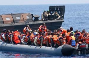 Good news alert: Irish naval vessel rescues 183 migrants from Mediterranean sea